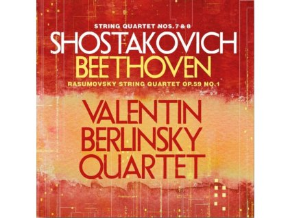 VALENTIN BERLINSKY / QUARTET - Shostakovich/String Quartets (CD)