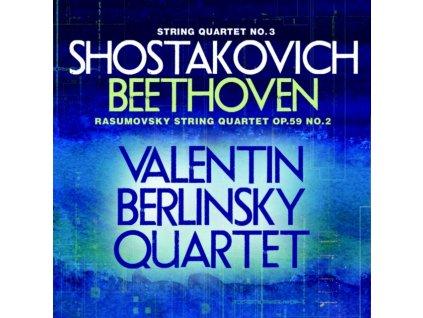 VALENTIN BERLINSKY / QUARTET - Shostakovich/Beethoven (CD)