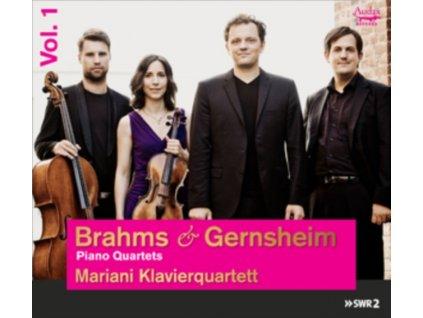 MARIANI KLAVIERQUARTETT - Brahms & Gernsheim: Piano Quartets Vol. 1 (CD)