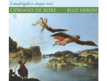 BLUE HERON / METCALFE - Cipriano De Rore: I Madrigali A Cinque Voci (CD)