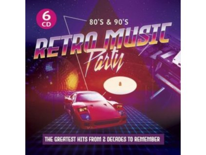 VARIOUS ARTISTS - 80s & 90s Retro Music Party (CD Box Set)