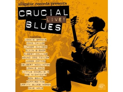 VARIOUS ARTISTS - Crucial Live Blues (CD)