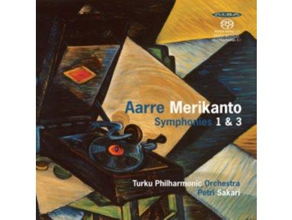 AARRE MERIKANTO - Symphonies 1 & 3 - Turku Philharmonic Orchestra (CD)