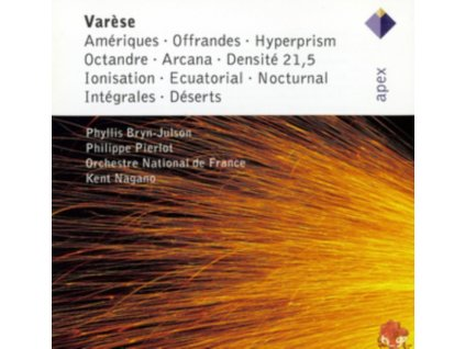 NAGANO - Varese: Ameriques/Offrandes/Octandre/Hyperism/Loni (CD)