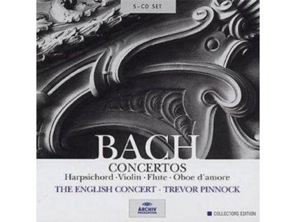 ENGLISH CONCERT/PINNOCK - Js Bach/Concertos (CD)