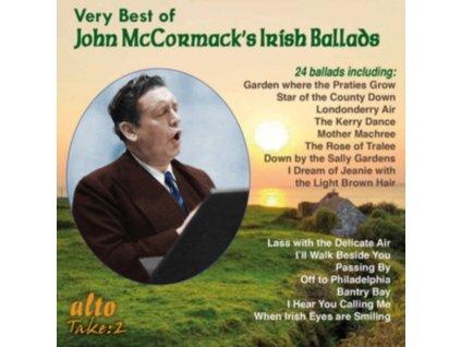 JOHN MCCORMACK - Very Best Of John Mccormacks Irish Ballads (CD)
