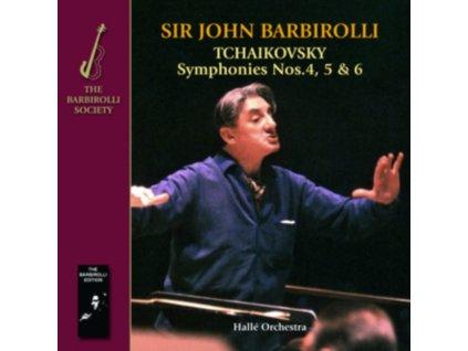 HALLE OR/BARBIROLLI - Tchaikovsky: Symphonies 4 / 5 & 5 (CD)