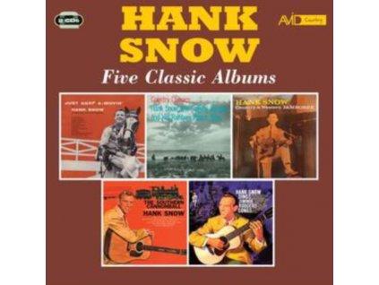 HANK SNOW - Five Classic Albums (CD)