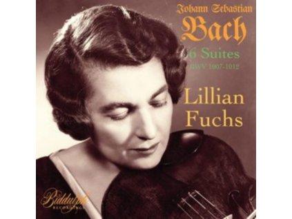LILLIAN FUCHS - Johann Sebastian Bach: 6 Suites (Bwv 1007-1012) (CD)