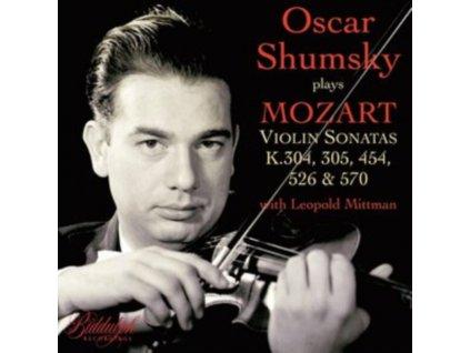 SHUMSKY / MITTMAN - Oscar Shumsky Plays Mozart Violin Sonatas K. 304. 305. 454. 526 & 570 (CD)