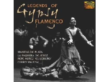 VARIOUS ARTISTS - Legends Of Gypsy Flamenco (CD)