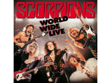 SCORPIONS - World Wide Live (50th Anniversary Deluxe Edition) (CD + DVD)