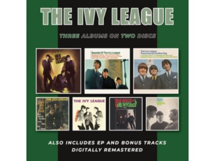 IVY LEAGUE - This Is The Ivy League / Sounds Of The Ivy League / Tomorrow Is Another Day + EP & Bonus Tracks (CD)