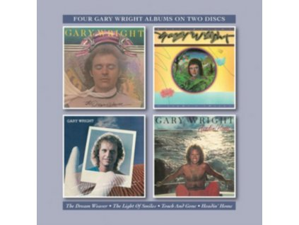 GARY WRIGHT - The Dream Weaver / The Light Of Smiles / Touch And Gone / Headin (CD)