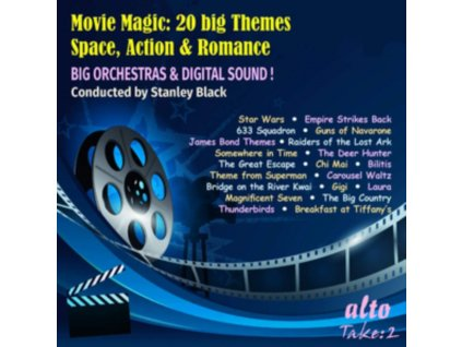 LONDON SYMPHONY & STANLEY BLACK ORCHESTRA - Movie Magic: 20 Big Themes Space Action & Romance (CD)