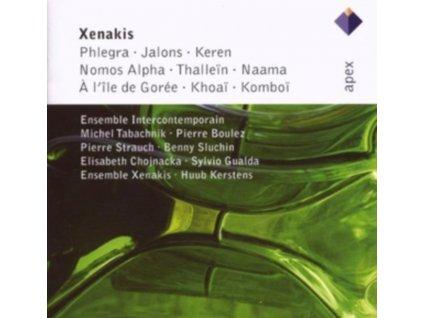 PIERRE BOULEZ + XENAKIS - Iannis Xenakis:Phlegra (CD)