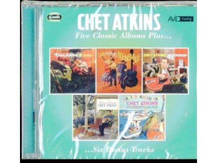 CHET ATKINS - Five Classic Albums Plus (CD)