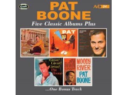PAT BOONE - Five Classic Albums Plus (CD)