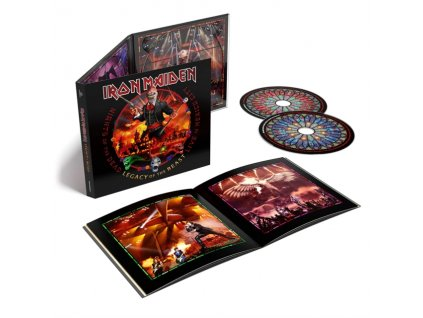 IRON MAIDEN - Nights Of The Dead. Legacy Of The Beast: Live In Mexico City (CD)