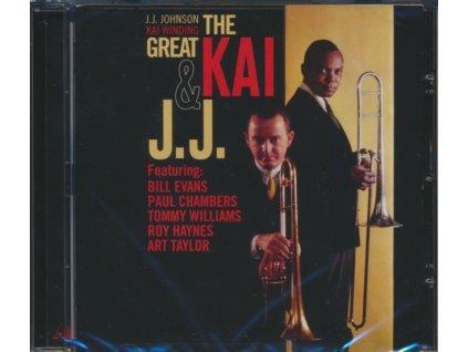 J.J. JOHNSON - The Great Kai & J.J. (CD)