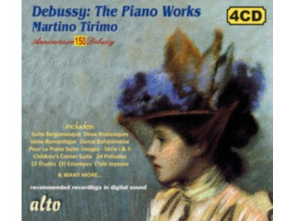 MARTINO TIRIMO - Debussy: The Piano Works (150Th Anniversary Edition) (CD)