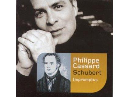 FRANZ SCHUBERT - Impromptus - Philippe Cassard / Piano (CD)