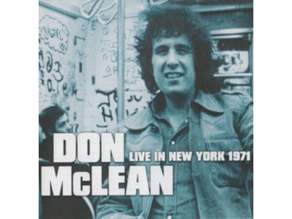 DON MCLEAN - Live In New York 1971 (CD)