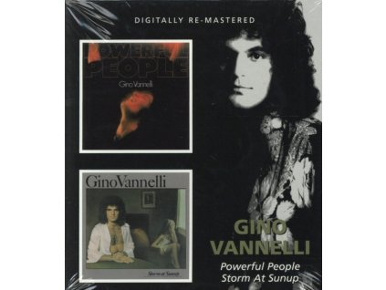 GINO VANNELLI - Powerful People/Storm At Sunup (CD)