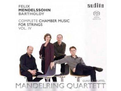 FELIX MENDELSSOHN / MANDELRING QUARTET - Chamber Music For Strings (SACD)