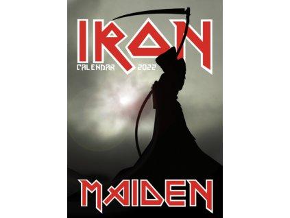 iron maiden a3 kalendář 2022