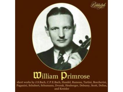 WILLIAM PRIMROSE PLAYS - William Primrose Plays Baroque Sonatas And Encore Pieces (CD)