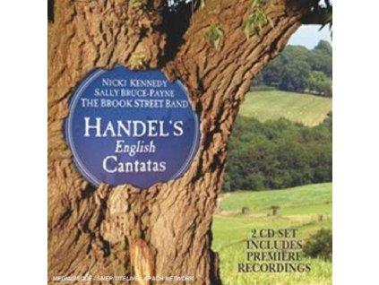 BROOK STREET BAND - Handel/English Cantatas & Songs (CD)