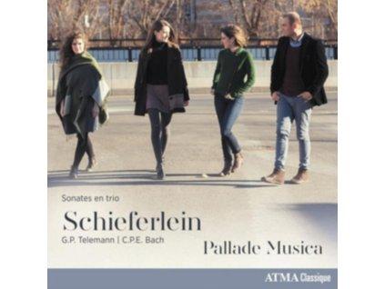 PALLADE MUSICA - Schieferlein. Telemann. Cpe Bach: Trio Sonatas (CD)