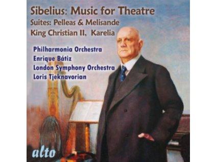 PHILHARMONIA ORCHESTRA / ENRIQUE BATIZ / LONDON SYMPHONY ORCHESTRA / LORIS TJEKNAVORIAN - Sibelius: Incidental Music For Theatre / Pelleas & Melisande (Suite) Op.46 (For Maeterlincks Play) / Karelia Overture Op.10 & Karelia Suite Op.11 / Kin