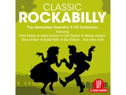 VARIOUS ARTISTS - Classic Rockabilly - 60 Essential Recordings (CD)