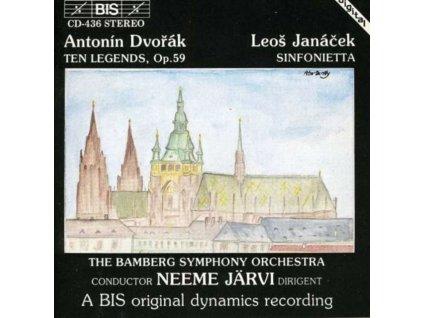DVORAK - Bamberg Sojarvi (CD)