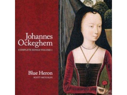 BLUE HERON / METCALFE - Johannes Ockeghem: Complete Songs. Volume 1 (CD)