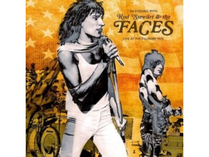 ROD STEWART & THE FACES - An Evening With.... Live At The Fillmore 1970 (CD)