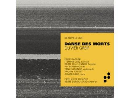 EDWIN FARDINI / PIERRE FOUCHENNERET / LISE BERTHAUD / YAN LEVIONNOIS / PHILIPPE HATTAT / LATELIER DE MUSIQUE / PIERRE DUMOUSSAUD - Greif: Danse Des Morts (Deauville Live) (CD)