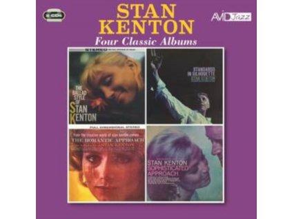 STAN KENTON - Four Classic Albums (CD)