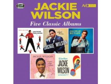 JACKIE WILSON - Five Classic Albums (CD)