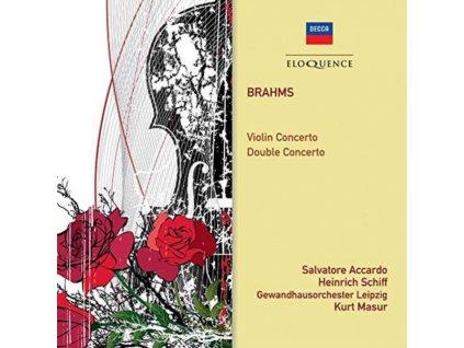 SALVATORE ACCARDO / HEINRICH SCHIFF / GEWANDHAUS ORCH - Brahms: Violin Concerto / Double Concerto (CD)