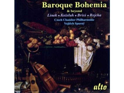 CZECH CHAMBER PHILHARMONIC - Baroque Bohemia: Brixi. Linek Etc (CD)
