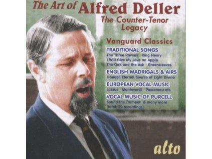 ALFRED DELLER / DELLER CONSORT - Alfred Deller The Art Of (CD)