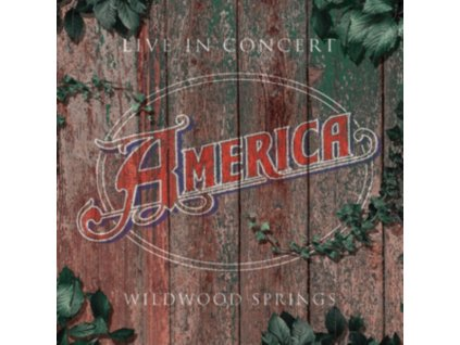 AMERICA - Live In Concert - Wildwood Springs 2008 (CD)