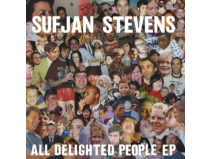 SUFJAN STEVENS - All Delighted People (CD)