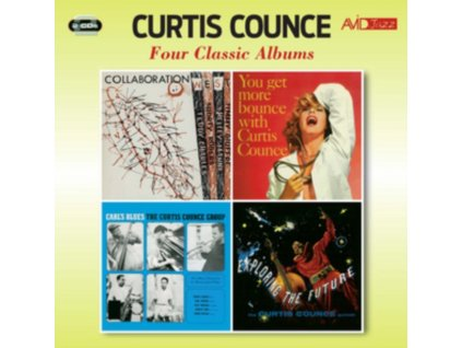 CURTIS COUNCE - Four Classic Albums (CD)