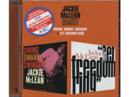 JACKIE MCLEAN - Swing. Swang. Swingin / Let Freedom Ring (CD)