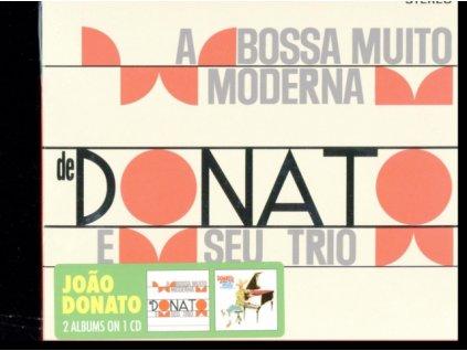 JOAO DONATO E SEU TRIO - A Bossa Nova Muito Moderna De Joao Donato / Muito A Vontade (CD)