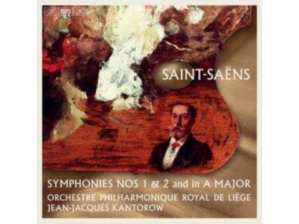 OP ROYAL DE LIEGE / KANTOROW - Camille Saint-Saens: Symphnies Nos. 1 & 2 And In A Major (SACD)